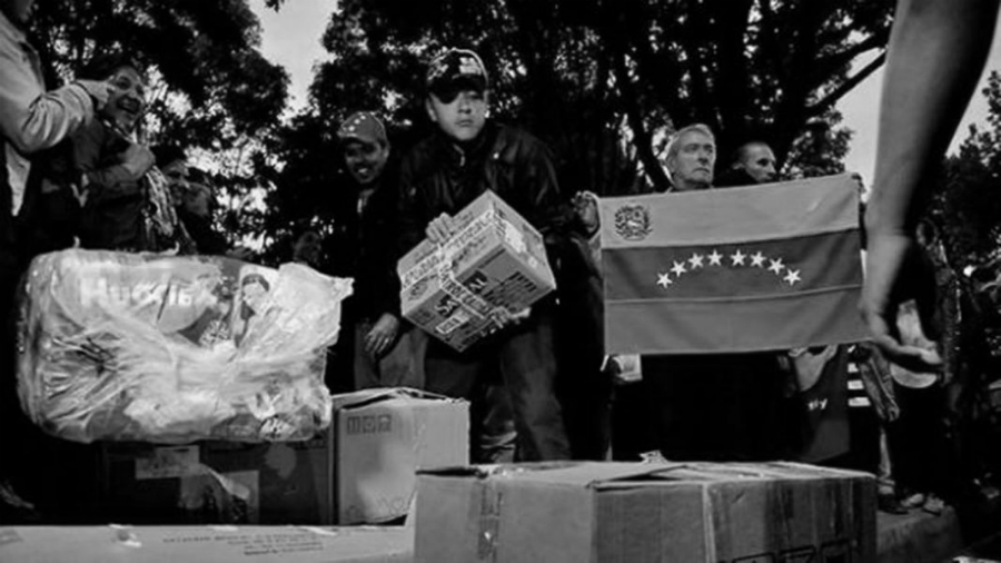 Venezuela ayuda humanitaria la-tinta