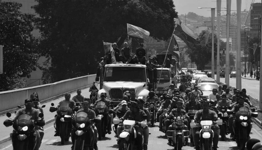 Venezuela chavismo caravana la-tinta