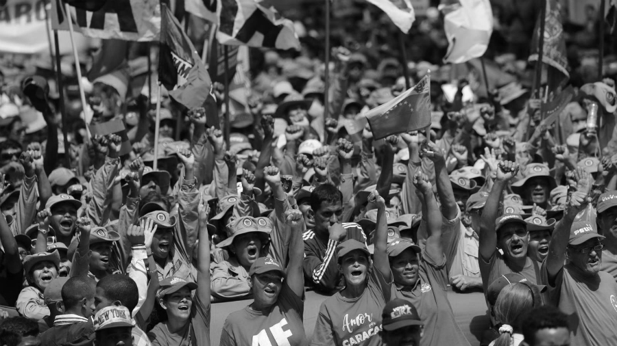 Venezuela chavismo marcha caracas la-tinta