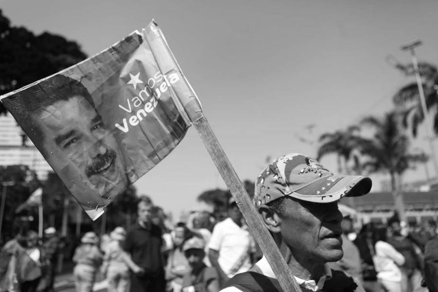 Venezuela pueblo chavista la-tinta