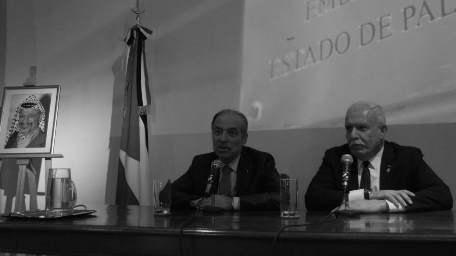 Argentina canciller palestino Maliki la-tinta