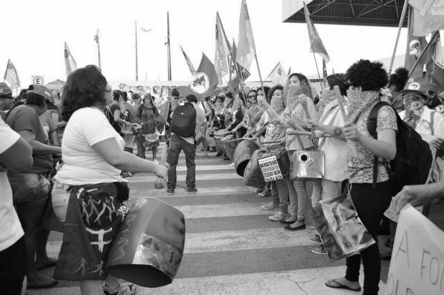 Brasil 8M marcha la-tinta