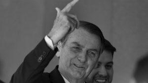 Bolsonaro fue recibido en Washington con una protesta frente a la Casa Blanca