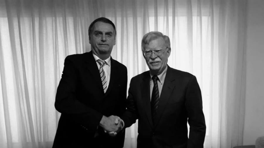 Brasil Bolsonaro John Bolton Estados Unidos la-tinta