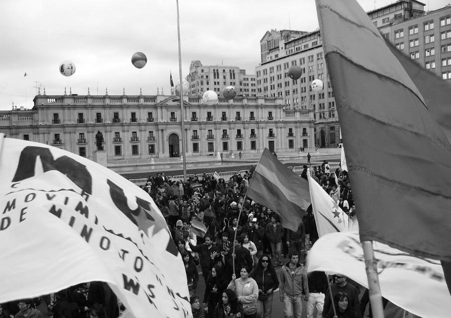 Chile marcha por la diversidad sexual la-tinta