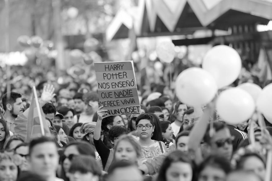 Chile movilizacion LGBT la-tinta