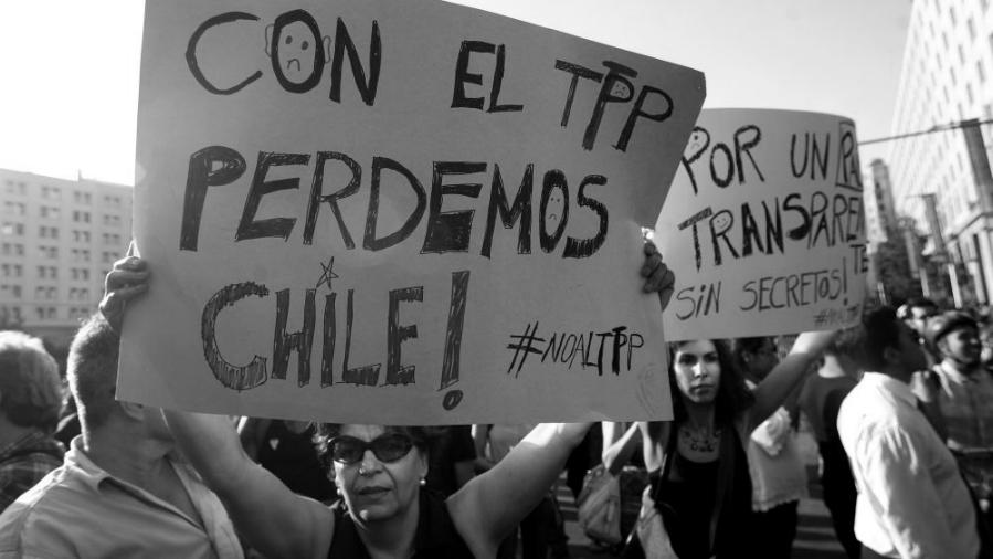 Chile no al TPP 11 la-tinta