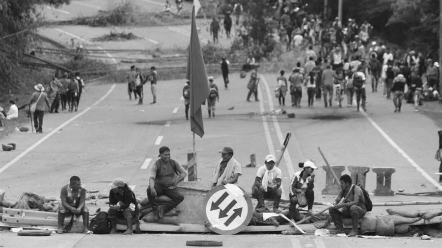 Colombia Cauca protestas indigenas la-tinta