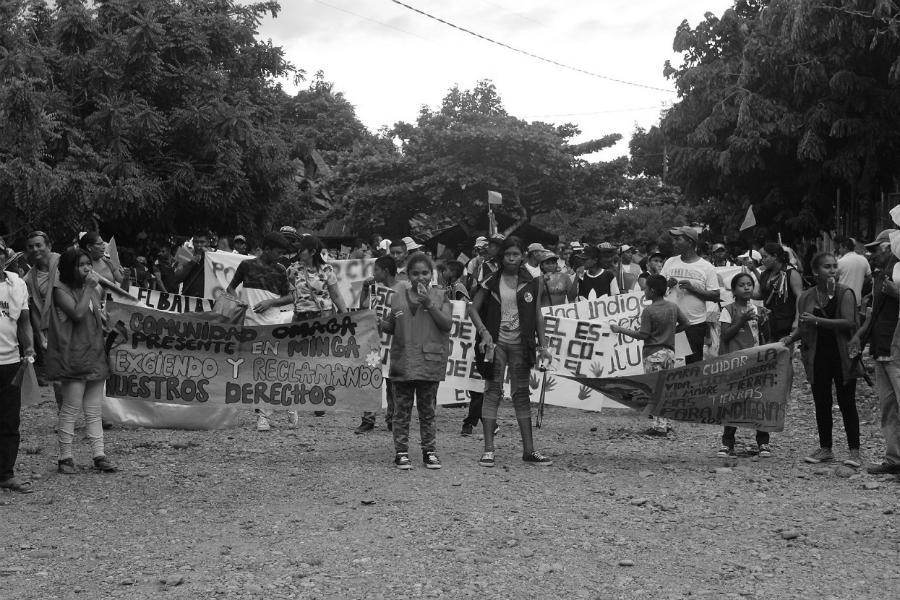 Colombia Cauca pueblos indigenas la-tinta