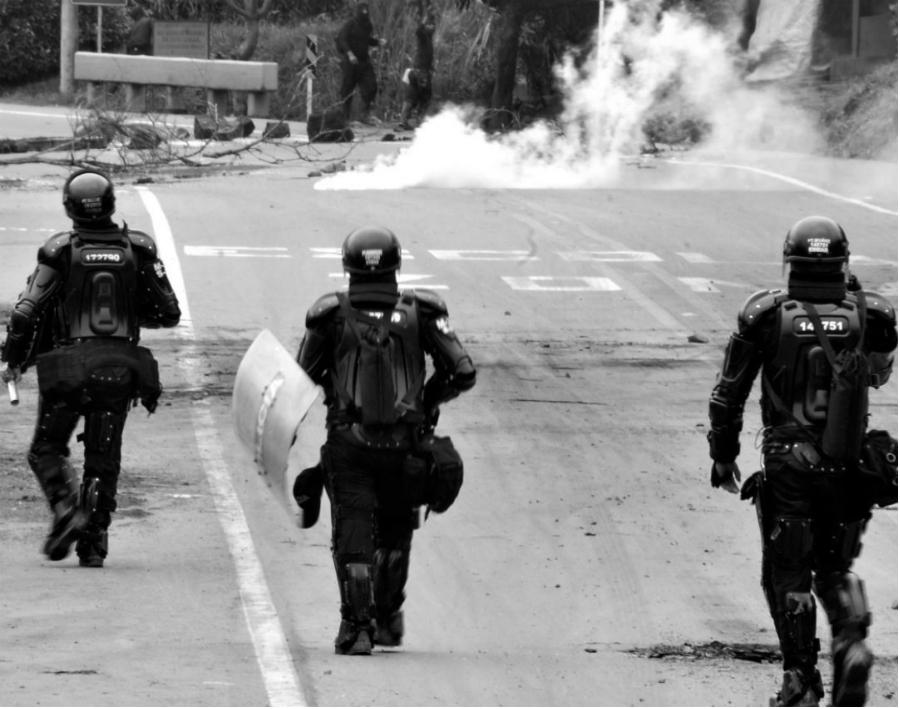 Colombia Cauca represión la-tinta