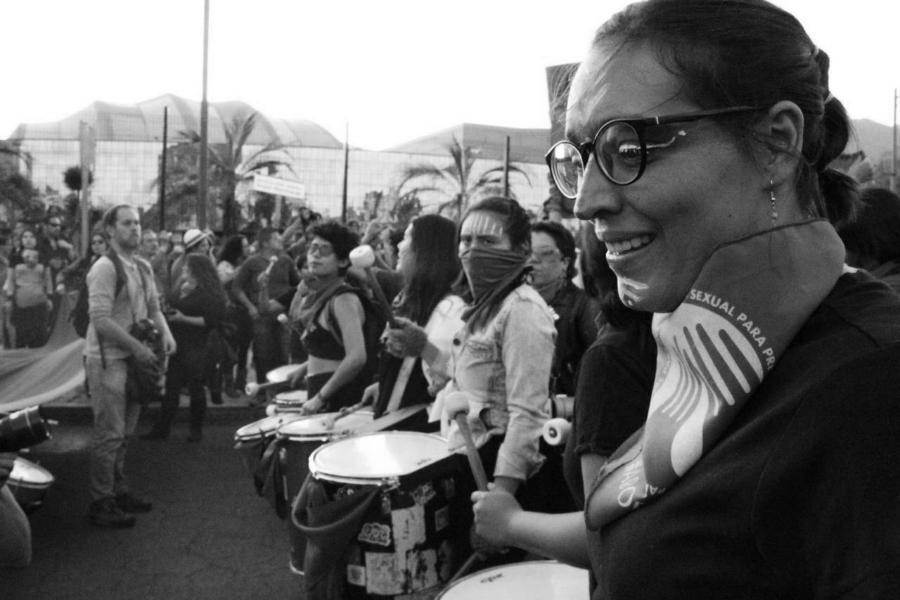 Ecuador marcha de mujeres la-tinta