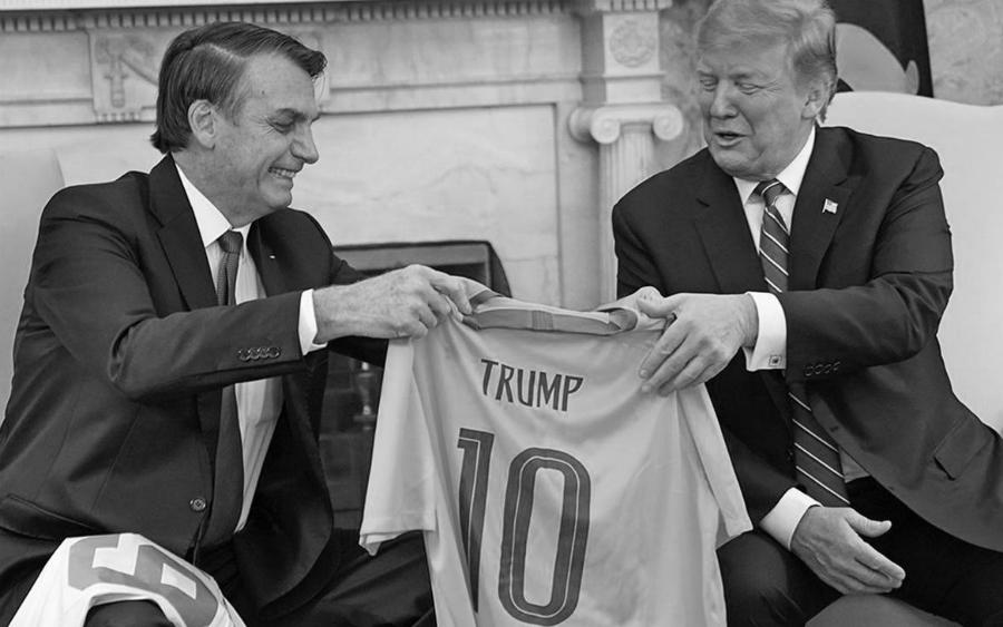 Estados Unidos Bolsonaro se reune con Trump