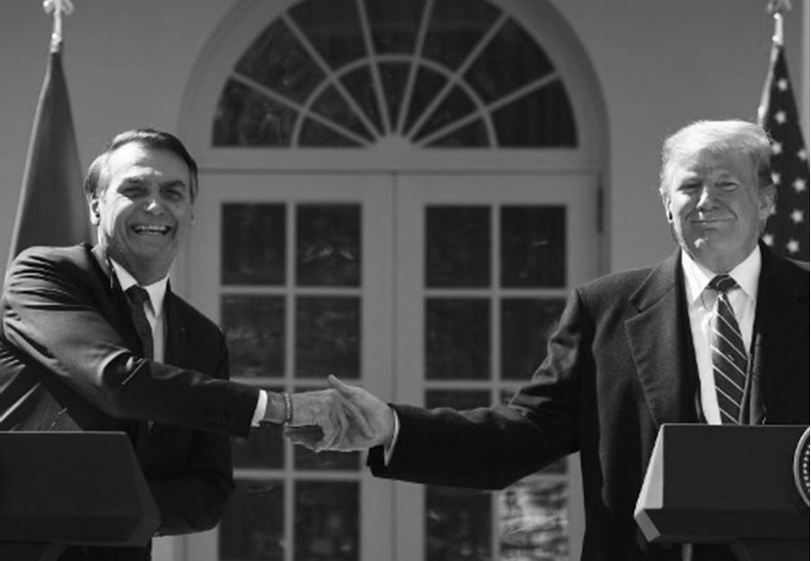 Estados Unidos Casa Blanca Bolsonaro Trump