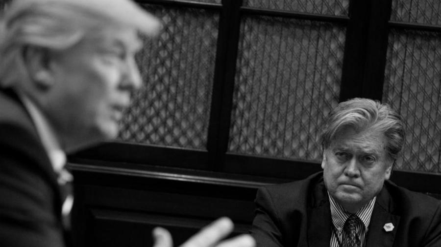 Estados Unidos Steve Bannon Donald Trump la-tinta