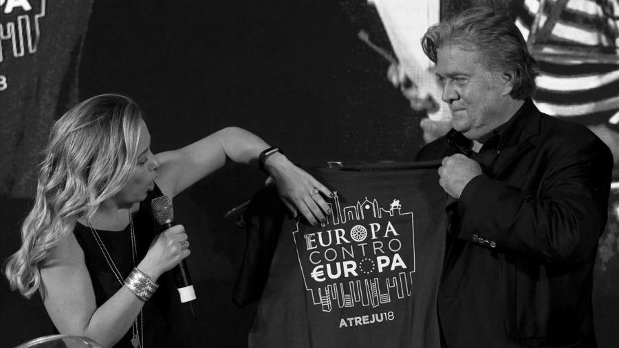 Estados Unidos Steve Bannon ultraderecha italiana la-tinta