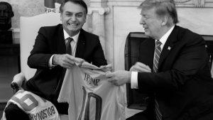 Bolsonaro confirma subordinación de Brasil a Estados Unidos