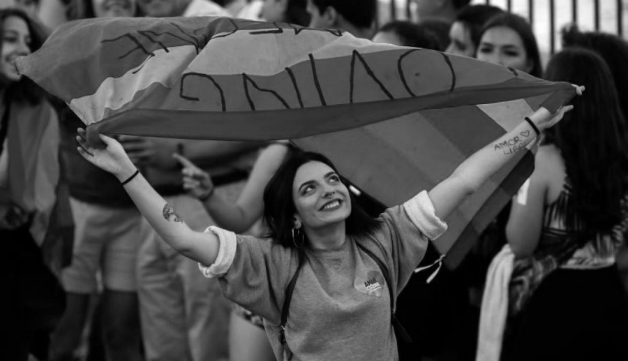 Europa lucha feminista la-tinta