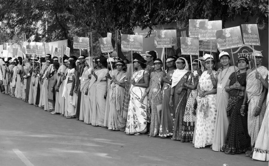 India protesta de mujeres la-tinta