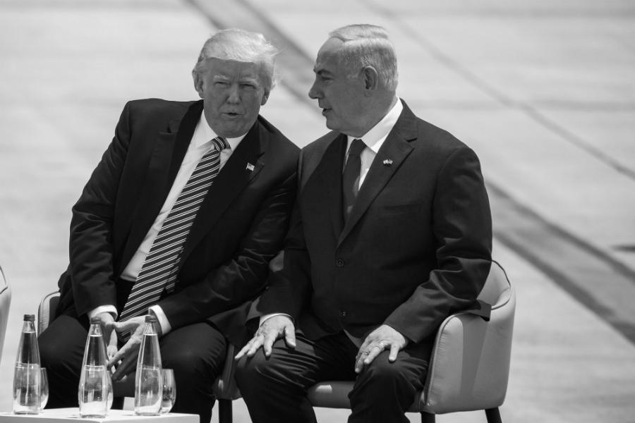 Israel Netanyahu Trump la-tinta