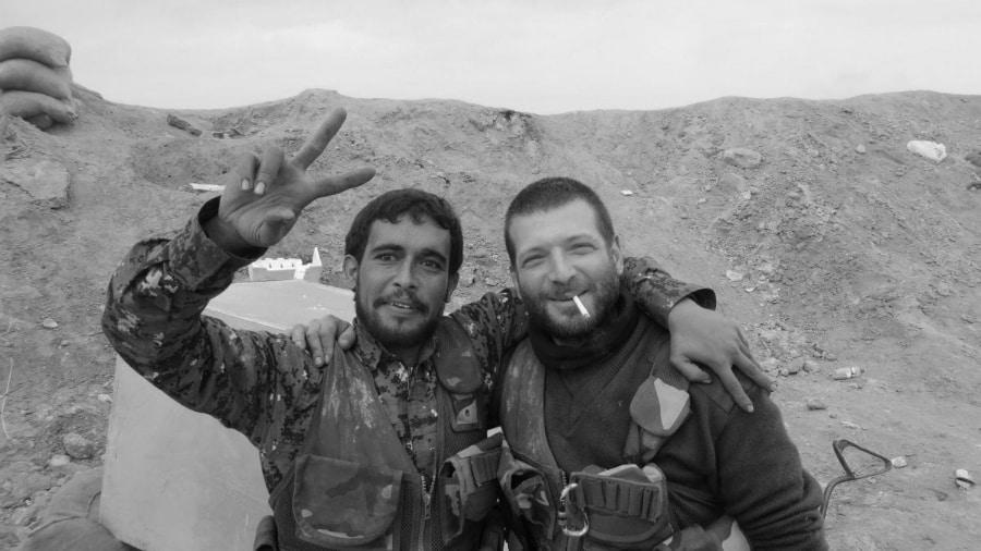 Kurdistan Orsetti YPG la-tinta