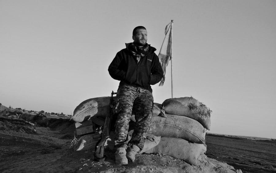 Kurdistan Rojava Lorenzo Orsetti la-tinta