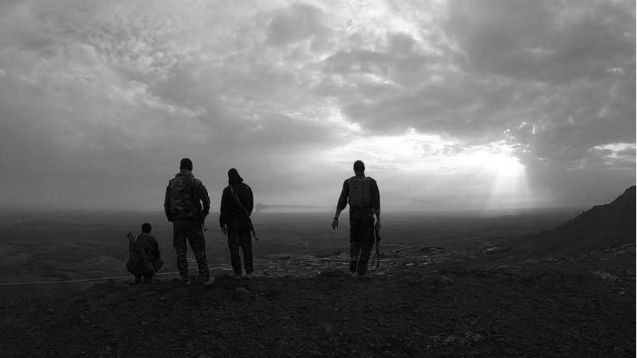 Kurdistan sirio montaña guerrilleros la-tinta