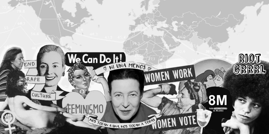 Mujeres 8M referentes la-tinta