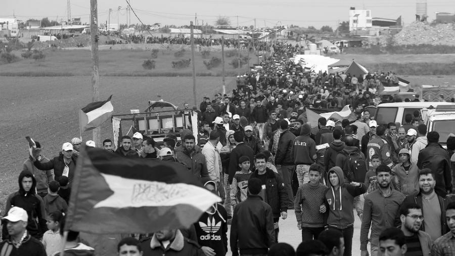 Palestina Gaza Marcha del Retorno la-tinta