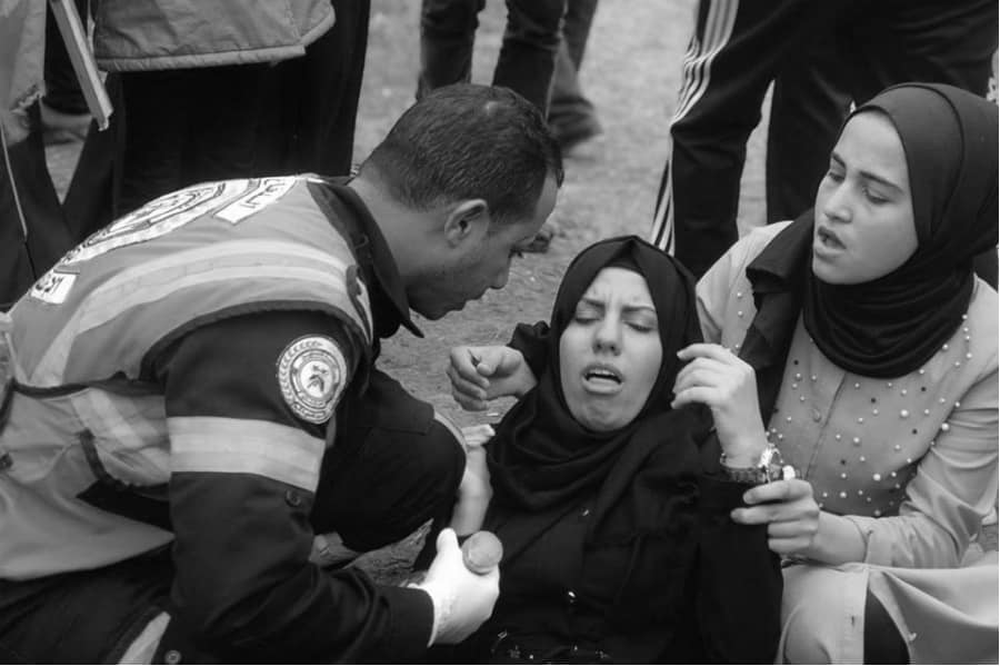 Palestina Gaza heridos Marcha del Retorno la-tinta