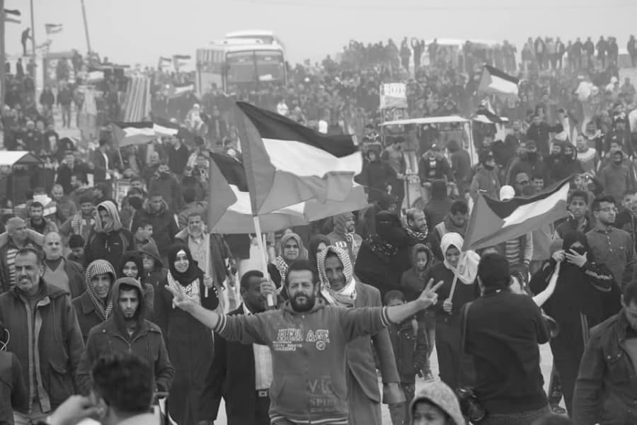 Palestina Gaza movilizacion Marcha del Retorno la-tinta