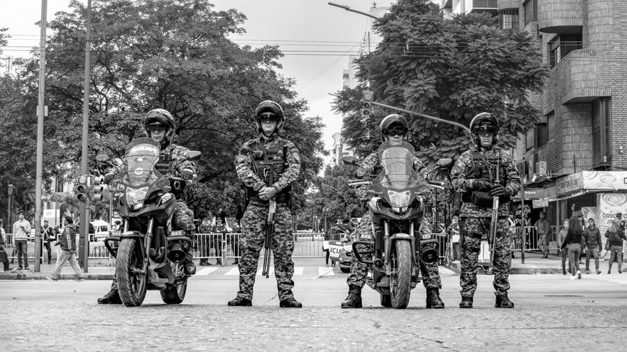 Policia-seguridad-vallado-violencia-institucional-CILE-Colectivo-Manifiesto-06