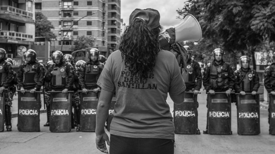 Policia-seguridad-vallado-violencia-institucional-CILE-Colectivo-Manifiesto-07