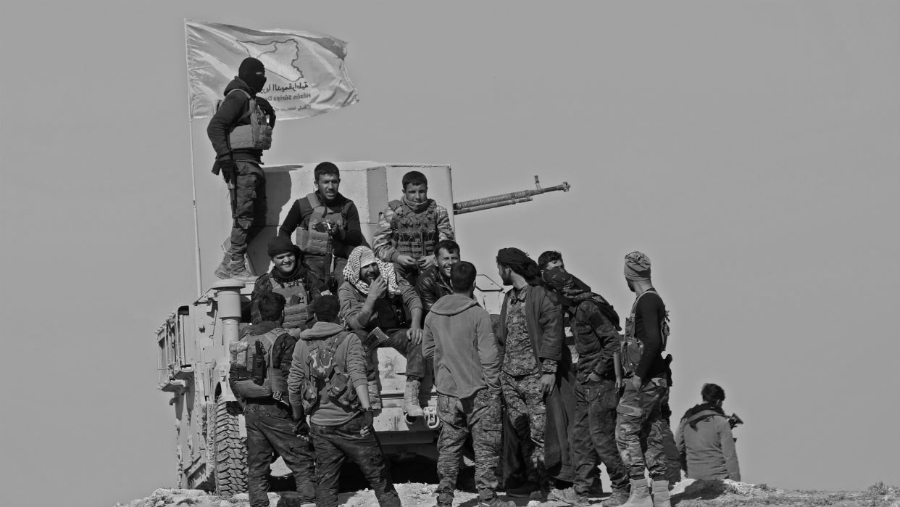 Siria FDS Baghouz combatientes la-tinta