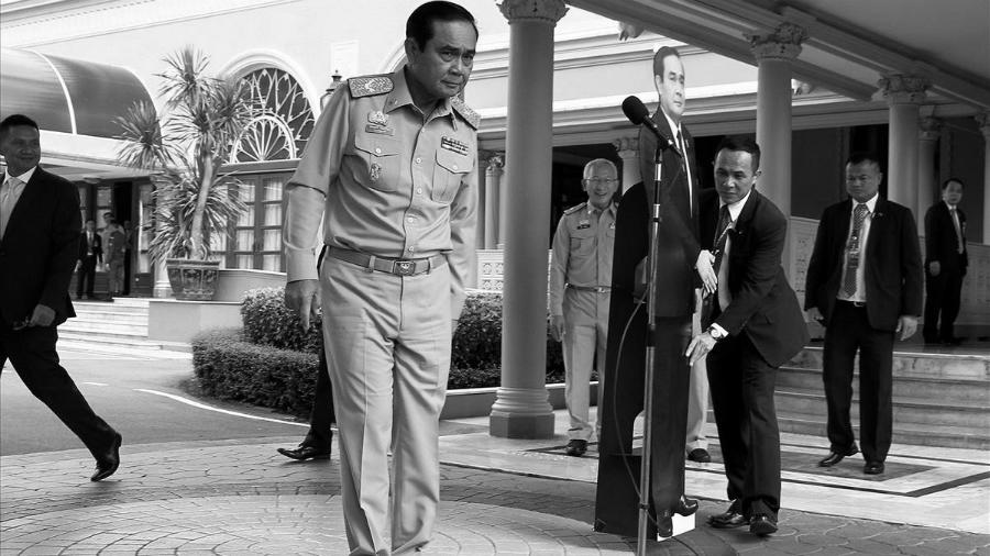 Tailandia general Prayuth Chan ocha junta militar la-tinta