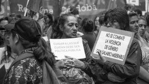 Ministerio de la Mujer:eso que llaman asistencia es trabajo precarizado