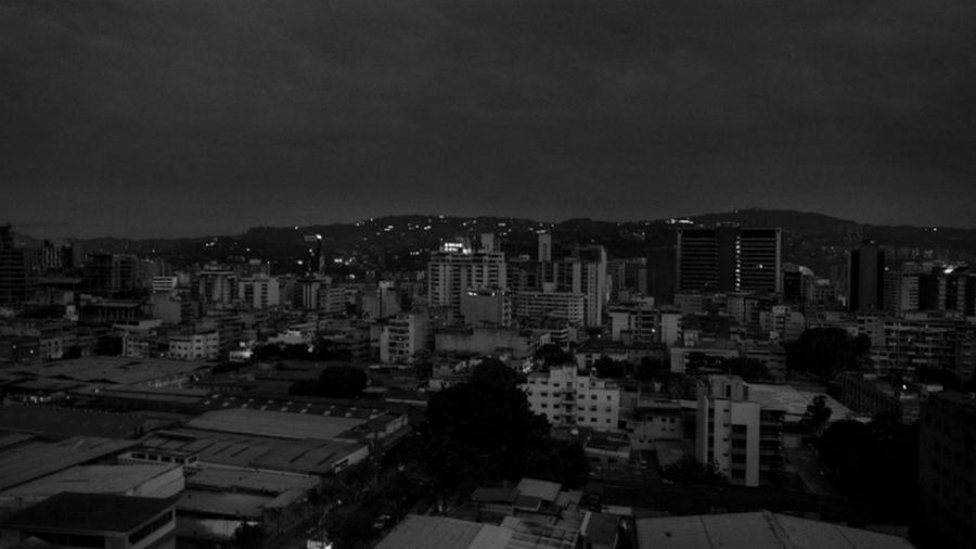 Venezuela Caracas apagon la-tinta