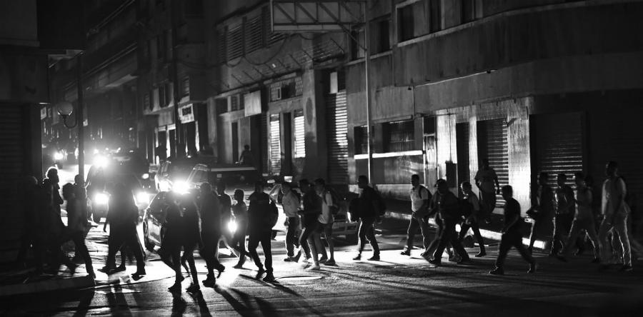 Venezuela Caracas cortes de Luz