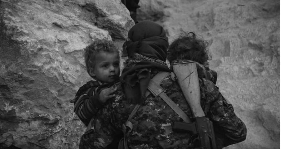 YPG rescata civiles en Siria la-tinta
