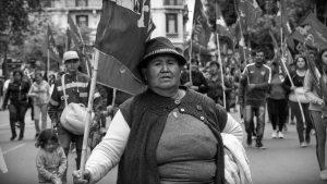 Movimientos populares protestan en todo el país por una paritaria social