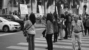 Docentes de Córdoba se manifiestan en defensa de la educación pública