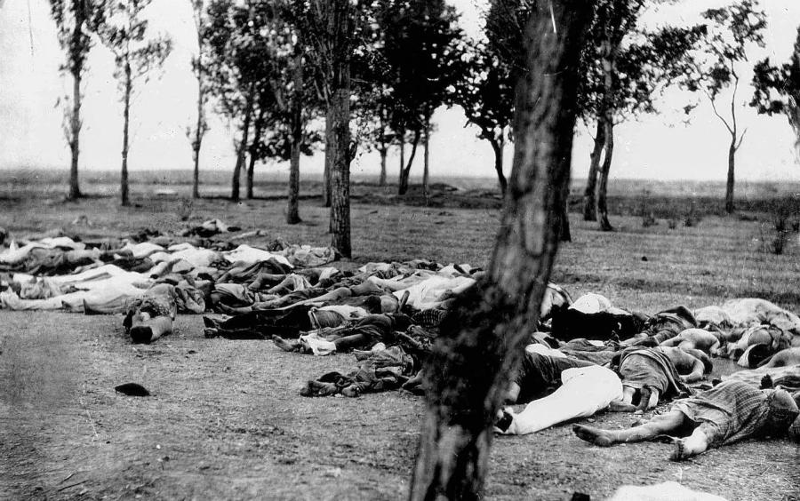 Armenia genocidio muertos la-tinta