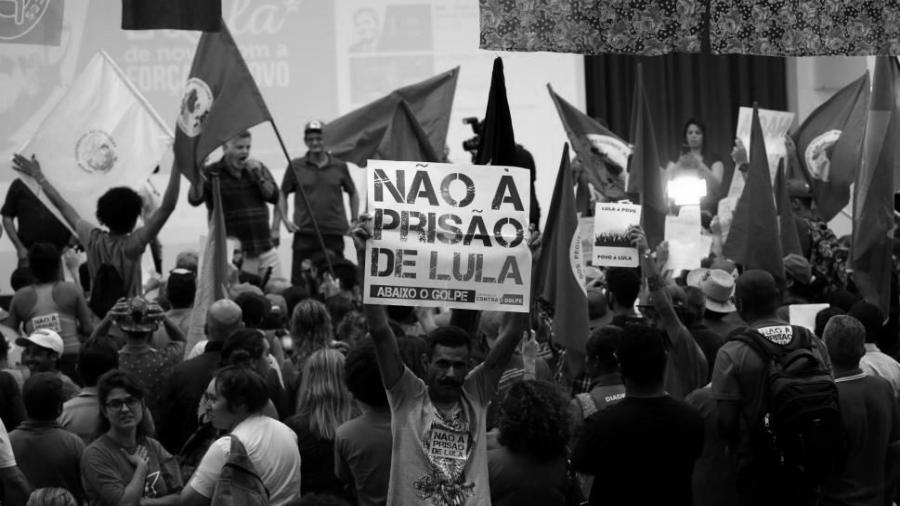 Brasil acto Lula libre la-tinta