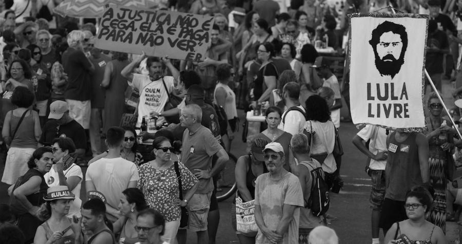 Brasil marcha Lula Livre la-tinta