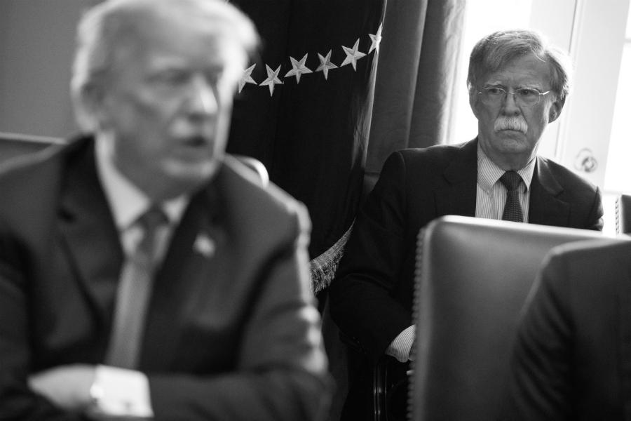 EEUU Donald Trump John Bolton la-tinta