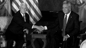 """""""Lenín Moreno quiere congraciarse con Estados Unidos y el FMI"""""""