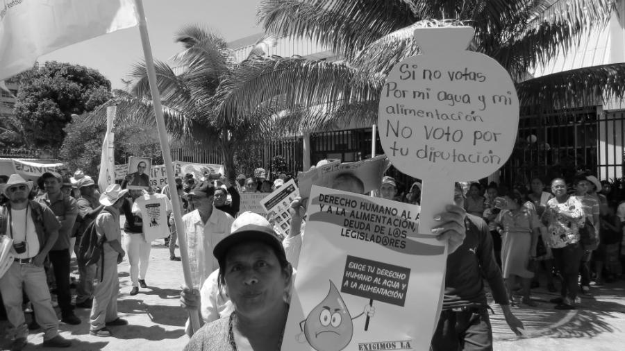 El Salvador lucha por el agua la-tinta