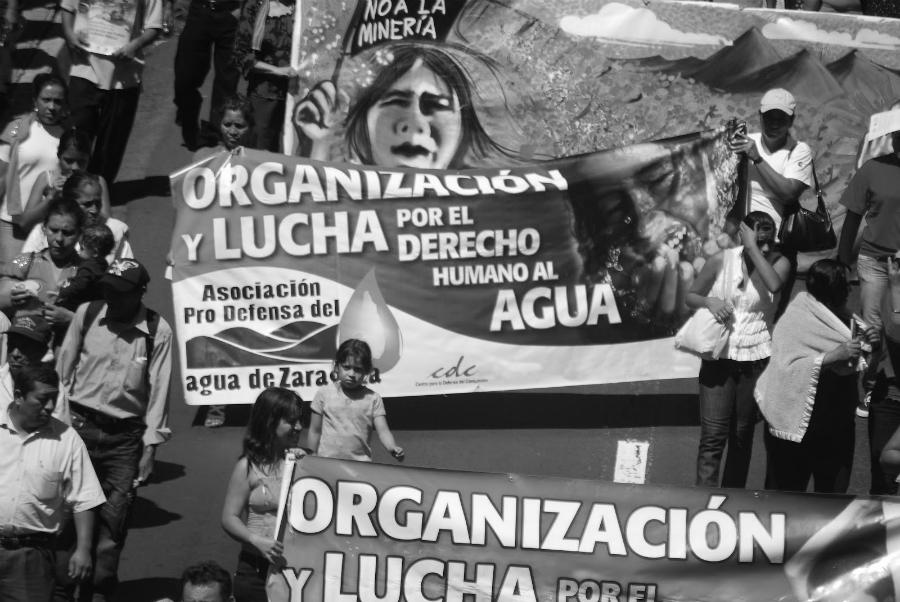 El Salvador movilizacion por el agua laa-tinta