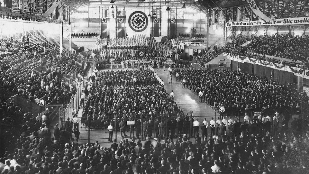 El acto nazi en el Luna Park_Portada