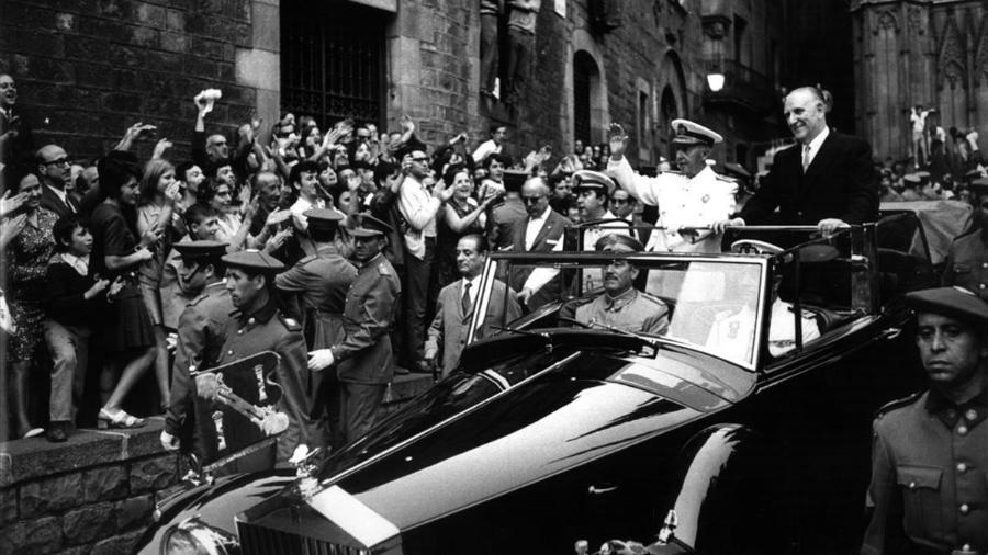 España dictador Francisco Franco Barcelona la-tinta