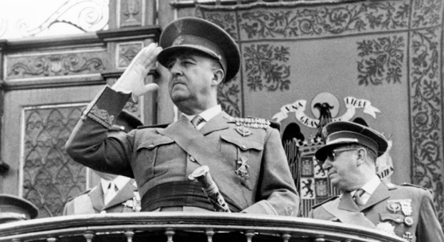 España dictador Francisco Franco la-tinta